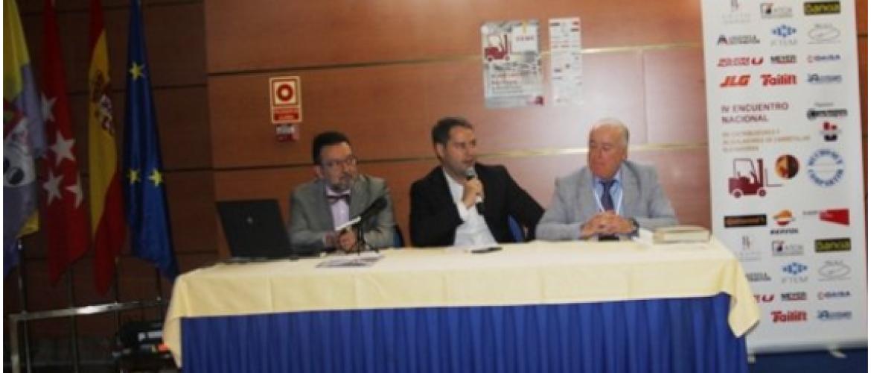 El IV Encuentro de Carretillas Elevadoras tuvo mucho más que compartir
